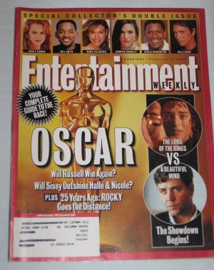ENTERTAINMENT WEEKLY Special Collectors Double Issue 640 641 Oscar Academy Awards February 2002