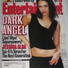 ENTERTAINMENT WEEKLY Magazine 587 Jessica Alba Dark Angel Survivors Controversy March 16 2001