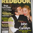 REDBOOK MAGAZINE June 2004 John Carolyn Kennedy Truth About Their Marriage Quick Love Tricks