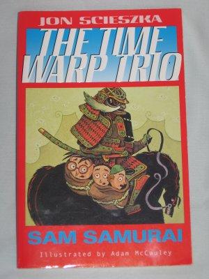 TIME WARP TRIO Sam Samurai Book 10 by Jon Scieszka (2004, Paperback) NEW