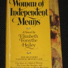 A Woman of Independent Means by Elizabeth Forsythe Hailey 1979 Paperback Avon Books