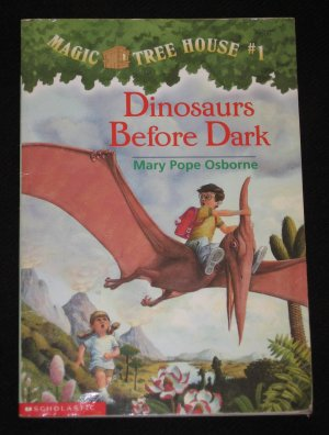 Magic Tree House Book 1 DINOSAURS BEFORE DARK by Mary Pope Osborne RL3 Scholastic 1995 Paperback