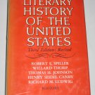 Literary History of the United States Third Edition Revised VINTAGE 1969 Hardcover Book