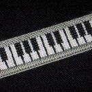 Handmade Piano Keyboard Bookmark using Plastic Canvas - NEW