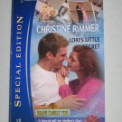 Christine Rimmer Lori's Little Secret Bravo Family Ties Silhouette Special Edition 1683 Romance Book