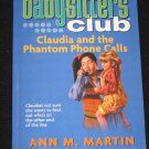 Baby-Sitters Club Claudia and the Phantom Phone Calls No. 2 by Ann M. Martin Scholastic Book