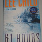 Lee Child 61 Hours A Jack Reacher Novel Number 14 (2012 Paperback) New York Times Bestseller