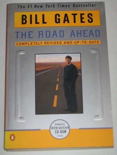 Bill Gates The Road Ahead Book with Interactive CD-ROM New York Times Bestseller