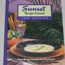 Vintage SUNSET RECIPE ANNUAL 1988 EDITION Hardcover Cookbook