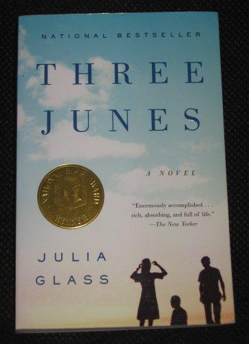 Three Junes by Julia Glass (2003, Paperback) National Bestseller Award Anchor Books