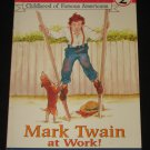 Mark Twain at Work Level 2 Ready To Read by Howard Goldsmith (2003, Paperback)
