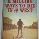 A Million Ways to Die in the West by Seth Macfarlane 2014 First Edition Western Humor Hardcover NEW