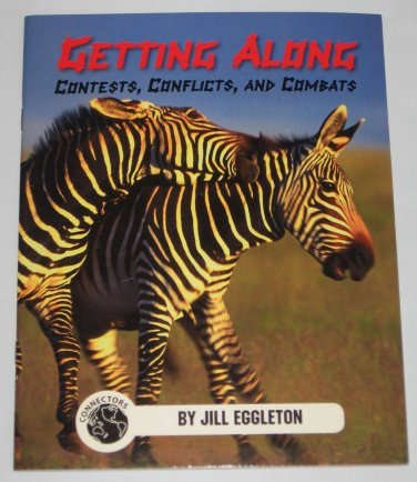 Jill Eggleton Connectors Series Getting Along Contests Conflicts Combats Book Pacific Learning NEW