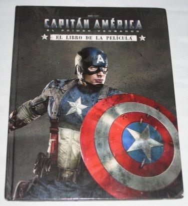 Captain America First Avenger SPANISH EDITION El Primer Vengador Libro Pelicular Marvel HARDCOVER