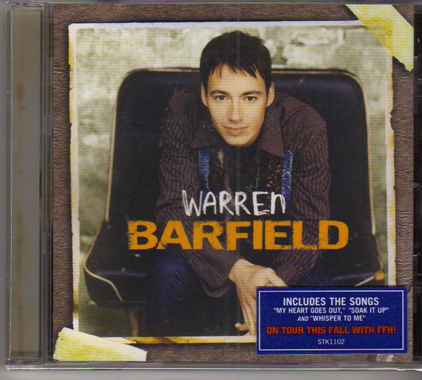 Warren Barfield Music CD
