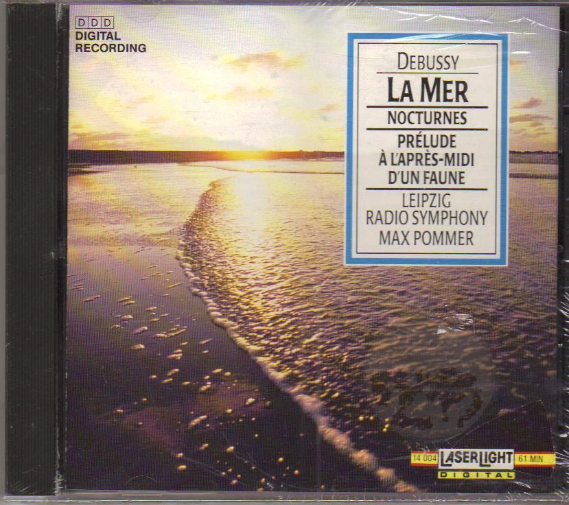 Claude Debussy La Mer Nocturnes Music CD