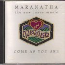 Maranatha Come As You Are Music CD