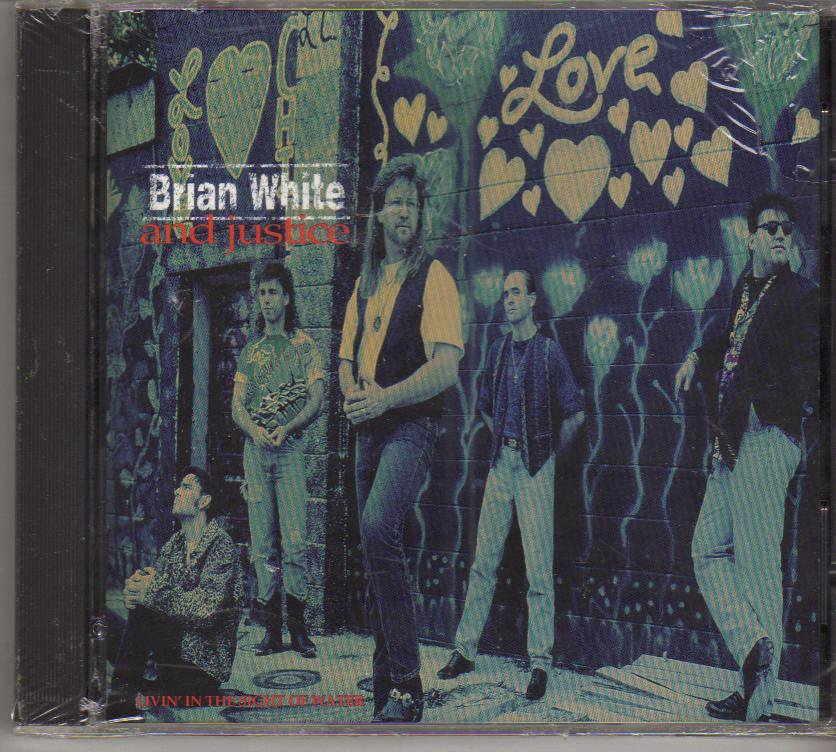 Brian White Livin' in the Sight of Water Music CD