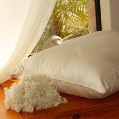 Organic Wool - Woolie Ball Filled Queen Pillow - Medium Fill