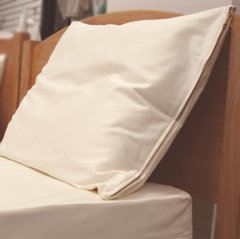 Organic Cotton King Size Pillow Protector - Protective Cover