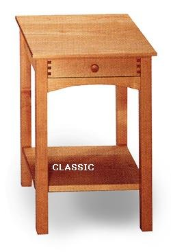 All Natural Solid Maple Nightstand By Pacific Rim
