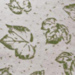 Organic Cotton Nursing Pillow Case - Sage Leaf Print