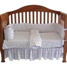 Organic Crib Bedding Set - Stars