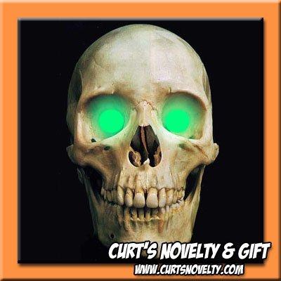 Scary Ocean Green LED Halloween Eye Eyes Set Haunted House Prop