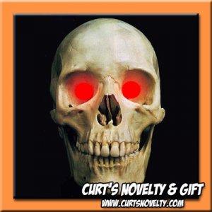 Scary Red LED Halloween Eye Eyes Set Haunted House Prop