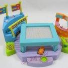 1999 Vintage Polly Pocket Gymfest Trampoline Bluebird Toys (34129)