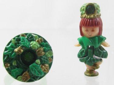 1992 Vintage Polly Pocket Springtime Princess Ring Bluebird Toys (39241)