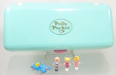 1989 Vintage Polly Pocket Complete Rare High Street Money Box Playset  Bluebird Toys (39129)