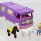 1994 Vintage Polly Pocket Stable on the Go Bluebird Toys (41998)