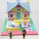 1993 Vintage Polly Pocket Summer House Bluebird Toys (41505)