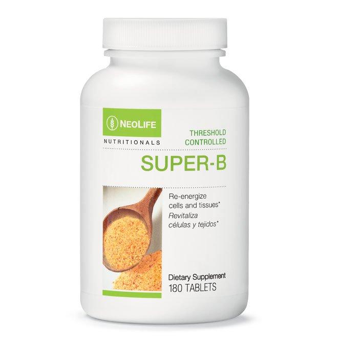 Vitamin B, Super- B Threshold Control, 180 tablets