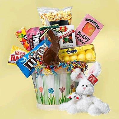 Easter - Easter Bunny Basket of Treats - EF821