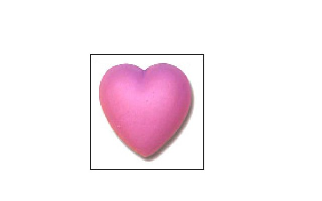 Sweet Pea Bar Soap (Heart)