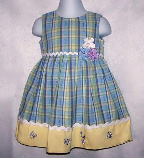 4T FLOWER POT DRESS