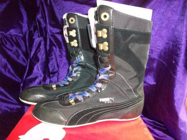 Puma Ring Mid Boot Alpine Sz 9 (350519-02)