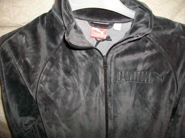 Puma Velour Jacket Blk Sz:S (815539-01)