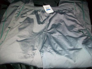 Puma Mens Cat Track Pants Sz:XXL (816116-05)