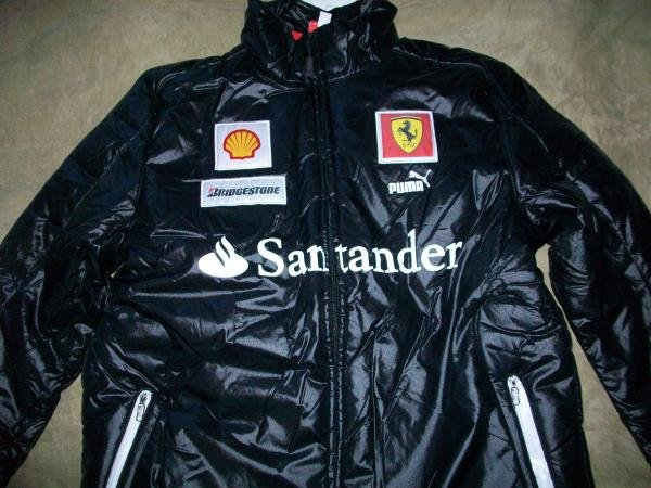 Puma Ferrari SF Team Puffer Jacket XXL (760816-01)
