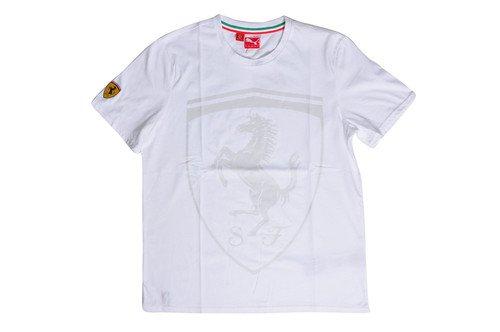Puma Ferrai T-Shirt MSRP $45 RARE!! XL White