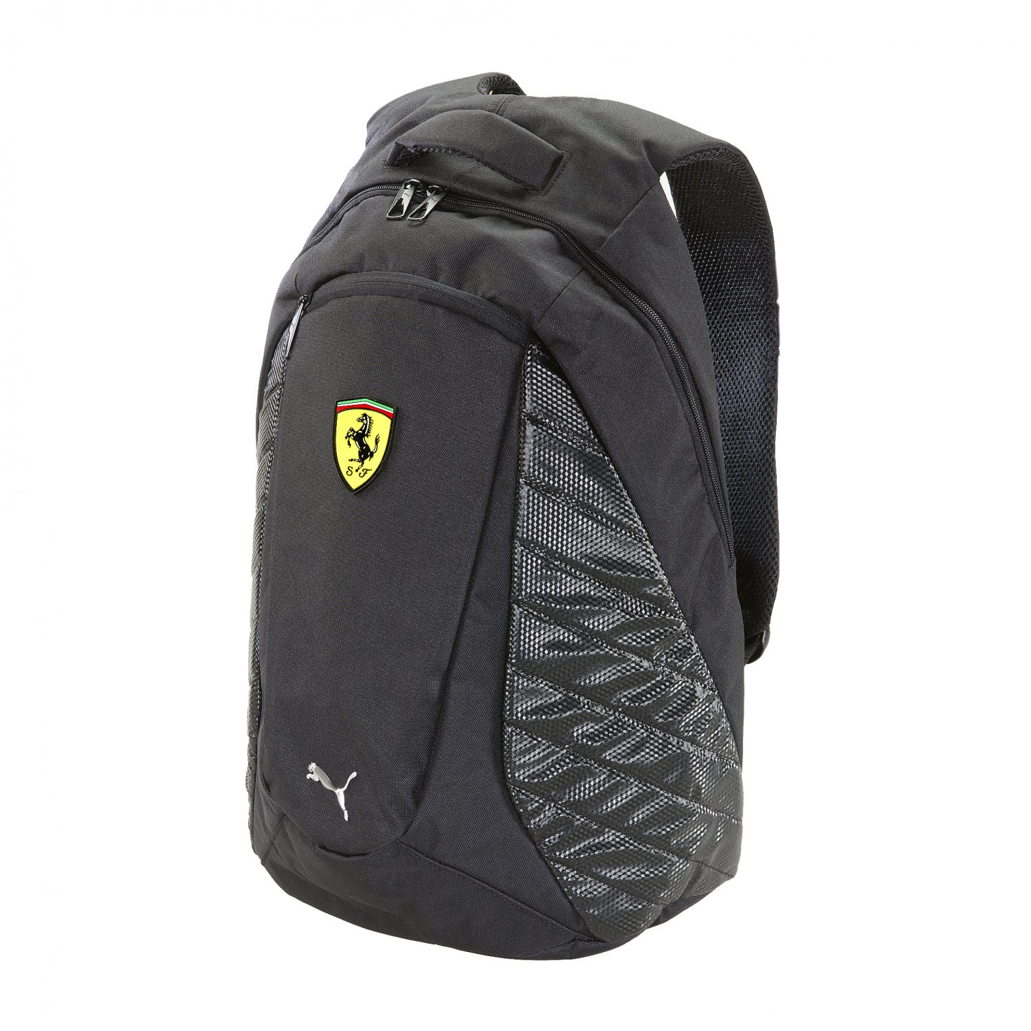 Puma FERRARI Backpack With Laptop Compartment Black