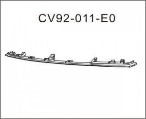 Chev GMC Suburban Tahoe Yukon Front Bumper Filler 1994-1999