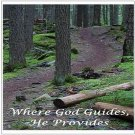 "Where God Guides, He Provides - Large Postcards 8.50"" x 5.47"""