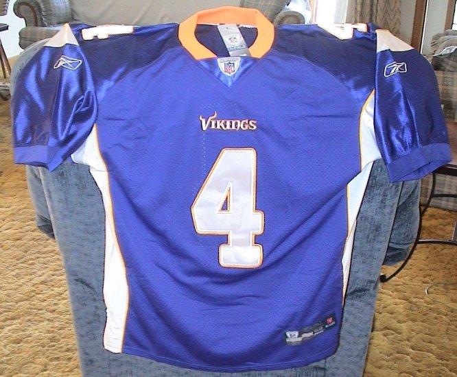 CLEARANCE - Brett Favre Minnesota Vikings Jersey - Purple Size X-Large