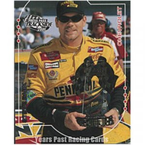 Steve Park 2001 Press Pass Trackside #9
