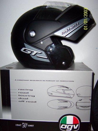 AGV GT Open Flat Black L Helmet new flip up helmet
