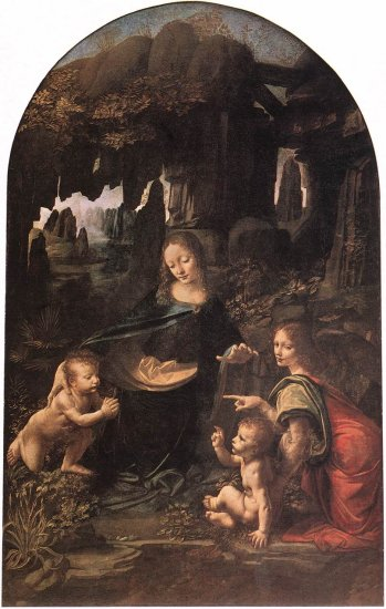 The Virgin of the Rocks 1483